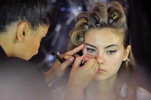Backstage at Paris Fashion Week Couture 25