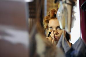 Backstage at Paris Fashion Week Couture 31