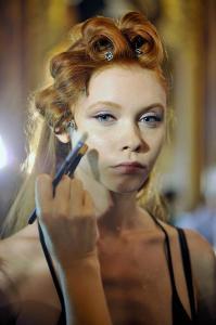 Backstage at Paris Fashion Week Couture 33