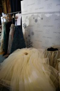 Backstage at Paris Fashion Week Couture 45