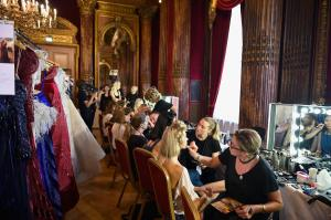 Backstage at Paris Fashion Week Couture 51