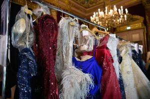 Backstage at Paris Fashion Week Couture 59