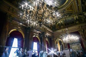 Backstage at Paris Fashion Week Couture 57