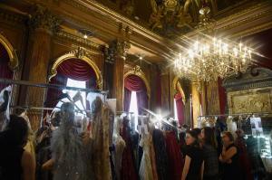 Backstage at Paris Fashion Week Couture 55