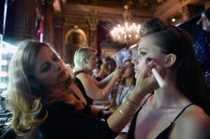 Backstage at Paris Fashion Week Couture 61